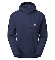 Mountain Equipment Echo Hooded W Jacket - Softshelljacke - Damen, Dark Blue