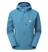 Mountain Equipment Echo Hooded W Jacket - Softshelljacke - Damen, Blue