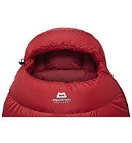 Mountain Equipment Glacier 1000 - sacco a pelo, Red