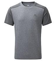 Mountain Equipment Headpoint Block Tee - T-Shirt - Herren, Grey