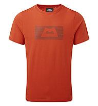 Mountain Equipment King Line Tee - T-Shirt - Herren, Orange