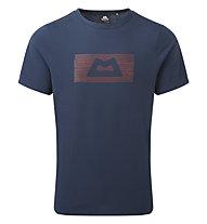 Mountain Equipment King Line Tee - T-Shirt - Herren, Dark Blue