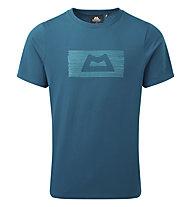 Mountain Equipment King Line Tee - T-Shirt - Herren, Blue