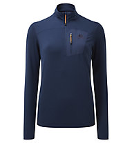 Mountain Equipment Lumiko Zip T - Fleecepullover - Damen, Dark Blue
