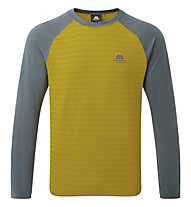 Mountain Equipment Redline - Langarmshirt - Herren, Yellow/Grey