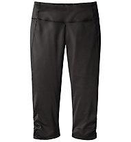 Moving Comfort Switch It Up Capri - Pantaloni Corti, Black Splash/Black