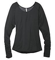 Moving Comfort Twist Open Black Maglia, Black