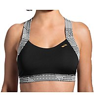 Moving Comfort Uplift Crossback C/D reggiseno sportivo, Black/Grey
