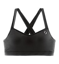 Moving Comfort UpRise Crossback A/B UpRise reggiseno sportivo, Black