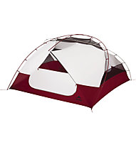 MSR Elixir 4 - Campingzelt, Grey/Red