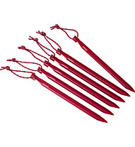 MSR Groundhog Stake Kit - Heringe, Red