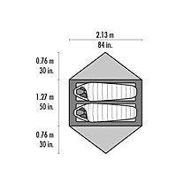 MSR Hubba Hubba NX - Zelt