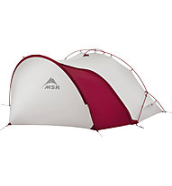 MSR Hubba Tour 1 - Trekkingzelt, Grey/Red