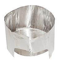 MSR Solid Heat Reflector with Windscreen, Silver