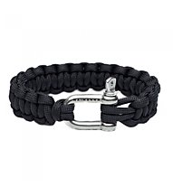 Naimakka Parachute Cord Bracelet, Black