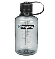 Nalgene 16 Ounce Narrow Mouth Trinkflasche, Gray