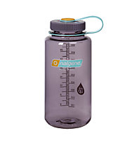 Nalgene 32 Ounce Wide Mouth (1L) - borraccia, Transparent/Violet
