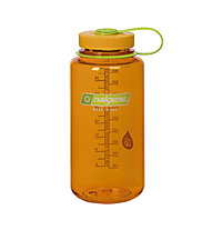 Nalgene 32 Ounce Wide Mouth (1L) - borraccia, Transparent/Orange