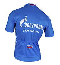 Nalini Maglia bici Gazprom Shirt M/C 2016, Blue