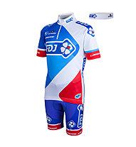Nalini Komplet Kinder FDJ Team 2015, White/Blue