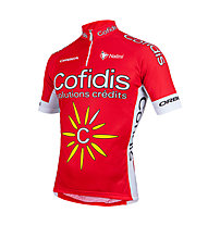 Nalini Jersey 2015 Confidis Team - Maglia Ciclismo, Red/White
