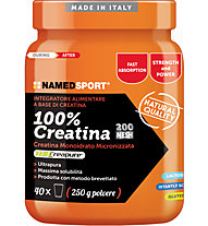 NamedSport Integratore in polvere 100% Creatina 250 g, 250 g
