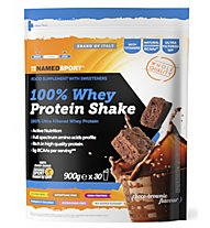 NamedSport 100% Whey Protein Shake - Sportnahrung, Choco Brownie
