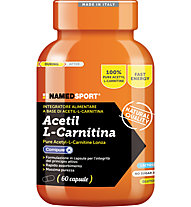 NamedSport Integratore Acetil L-Carnitina 50,4 g (60 capsule), Orange