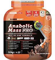 NamedSport Anabolic Mass Pro - integratore alimentare 1,6 kg, Dark Chocolate