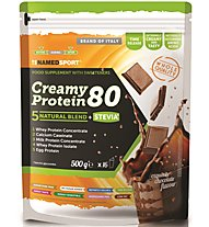 NamedSport Creamy Protein 80 - Nahrungsmittelergänzung, Exquisite Chocolate Flavour
