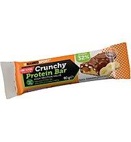 NamedSport Crunchy Protein Bar 40 g - barretta proteica, Choco-Banana