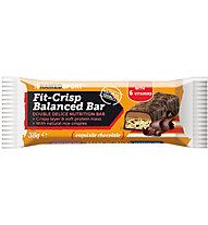 NamedSport Barretta proteica Fit-Crisp Balanced Bar 38 g, Exquisite Chocolate