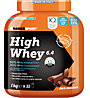 NamedSport High Whey 6.4 Protein-Nahrungsmittelergänzung 1kg, Dark Chocolate