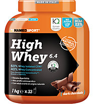 NamedSport Integratore in polvere High Whey 6.4 1 kg, 1 kg