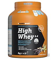 NamedSport High Whey 6.4 - Protein-Nahrungsmittelergänzung, Vanilla Cream