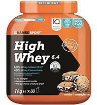 NamedSport High Whey 6.4 1 kg - proteine, Cookies Cream