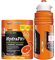NamedSport HydraFit - hypotonisches Getränk 400 g Pulver, Red Orange