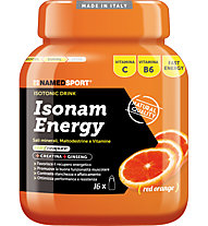NamedSport Isonam Energy Ernährungsergänzung 480 g, Red Orange