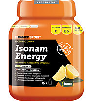 NamedSport Integratore in polvere Isonam Energy 480 g, Lemon