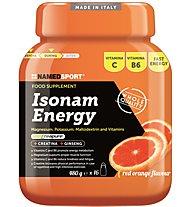 NamedSport Isonam Energy 480 g - integratore in polvere, Red Orange