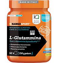 NamedSport Integratore in polvere L-Glutammina 250 g, 250 g