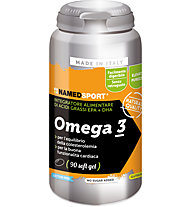 NamedSport Omega 3 - Nahrungsmittelergänzung 126 g (90 Perlen), Orange