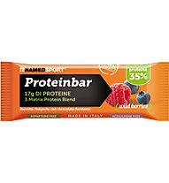 NamedSport Barra proteica Proteinbar 50 g, Wild Berries