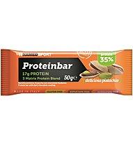 NamedSport Proteinbar 50 g - barretta proteica, Delicious Pistachio
