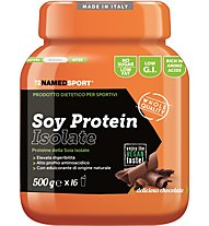 NamedSport Isoliertes Soja-Protein - Nahrungsmittelergänzung 500 g, Delicious Chocolate