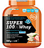 NamedSport Integratore in polvere Super 100% Whey 908 g, White Choco/Strawberry