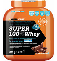 NamedSport Integratore in polvere Super 100% Whey 908 g, Smooth Chocolate