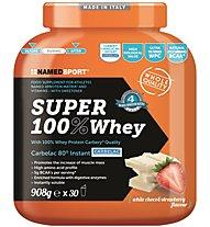 NamedSport Super 100% Whey 908g -  Protein-Nahrungsmittelergänzung, White Choco/Strawberry