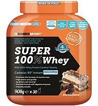 NamedSport Super 100% Whey 908g -  Protein-Nahrungsmittelergänzung, Tiramisù