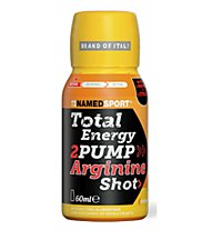 NamedSport Total Energy 2Pump>> Arginine Shot> Sportgetränk, Mango-Peach